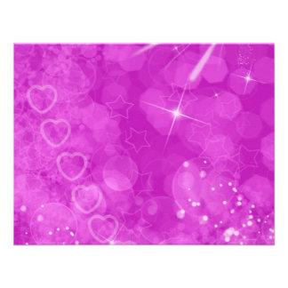 Pink and white Valentine Design Personalized Invite