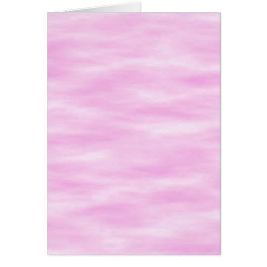 Pink and White Wavy Pattern. Card