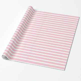 Pink and White Wrapping Paper