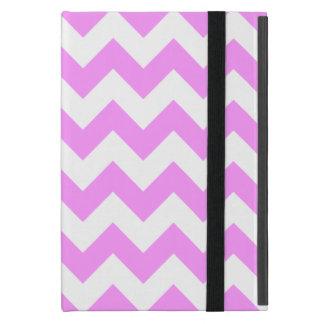 Pink and White Zigzag iPad Mini Covers