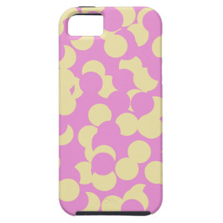 Pink and Yellow Confetti iPhone SE/5/5s Case