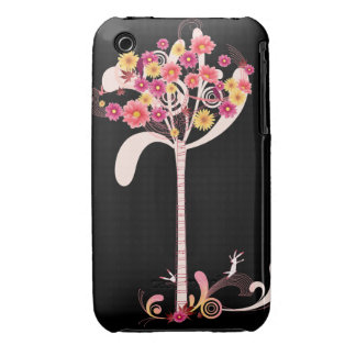 Pink and Yellow Daisy Tree iPhone 3 Case