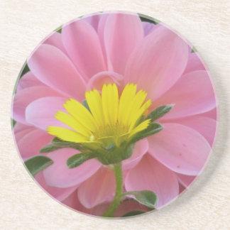 Pink and Yellow Duet - Coaster / Untersetzer