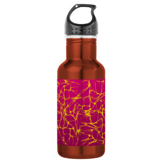 PINK AND YELLOW ELECTRIFIED 18OZ WATER BOTTLE