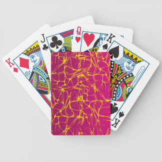 PINK AND YELLOW ELECTRIFIED CARD DECK