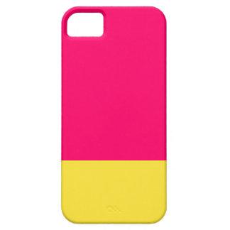 Pink and yellow  iPhone case iPhone 5 Cover