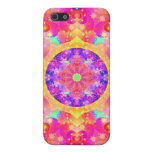 Pink and Yellow Kaleidoscope Fractal iPhone 5 Cover