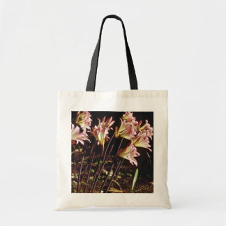 Pink And Yellow Lilies In Morning flowers Bags
