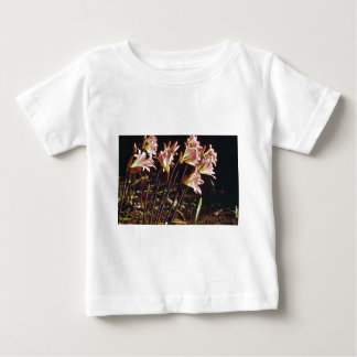 Pink And Yellow Lilies In Morning flowers Infant T-shirt