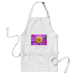 Pink and Yellow Peony Adult Apron