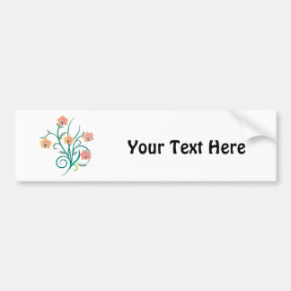 Pink and Yellow Phalaenopsis Orchids Bumper Sticker