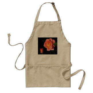 Pink and Yellow Roses Adult Apron