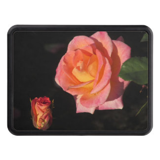 Pink and Yellow Roses Hitch Cover