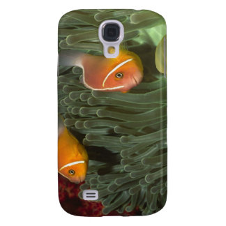 Pink Anemonefish in Magnificant Sea Anemone Samsung Galaxy S4 Cover