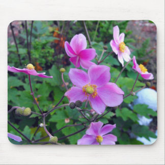 Pink Anemones Mouse Pad
