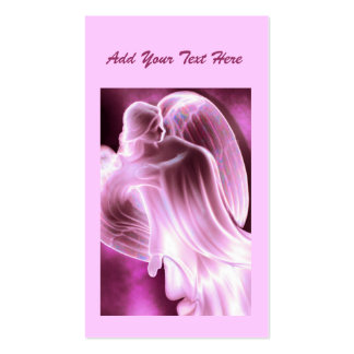 Pink  - Angel Daily Prayer Card Business Cards