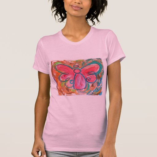 pink angel for fall leaves T-Shirt