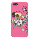 Pink Angel iPhone 4 Case