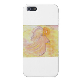 Pink Angel Watercolor Painting iPhone SE/5/5s Case