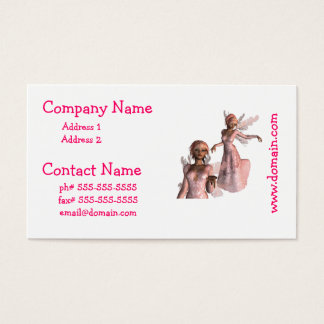 Pink Angels Business Cards