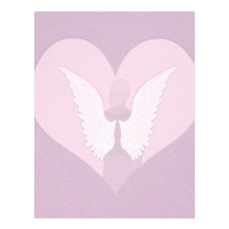 Pink Angels with Heart Full Color Flyer