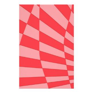 Pink Angle Design Stationery Design