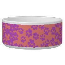 Pink Animal Print Bowl