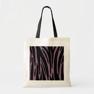 Pink Animal Print Budget Tote Bag