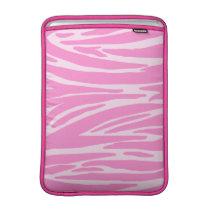 Pink Animal Print MacBook Air Sleeve