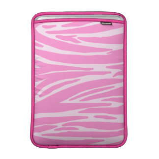 Pink Animal Print MacBook Air Sleeve