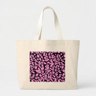 Pink Animal Spots Tote Bag