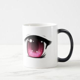 Pink Anime Eye Mug