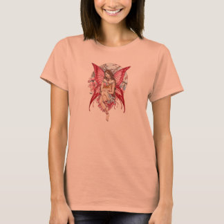 Pink anime Fairy and ginger Cat T Shirt