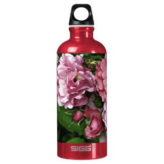 Pink Antique Rose Water Bottle