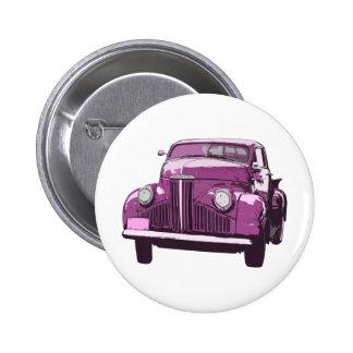 Pink antique Truck Buttons