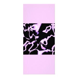 PINK AOMEBA LIGHTENING BLACK SATIN CLOUDS RACK CARDS