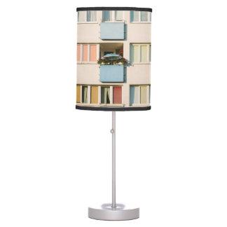 Pink Apartment Building, Uran Architecture Desk Lamp