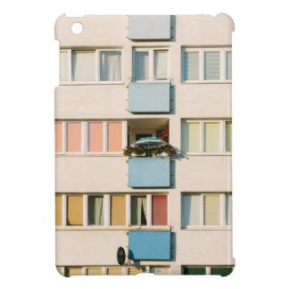 Pink Apartment Building, Uran Architecture iPad Mini Cover