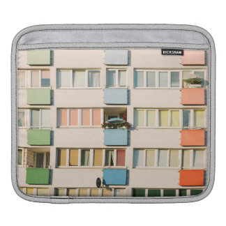Pink Apartment Building, Uran Architecture Sleeve For iPads