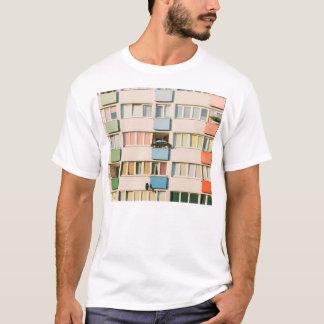 Pink Apartment Building, Uran Architecture T-Shirt