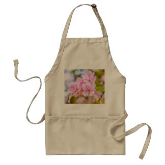 Pink Apple Blossom Adult Apron