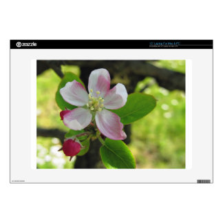 """Pink apple blossoms skin for 15"""" laptop"""