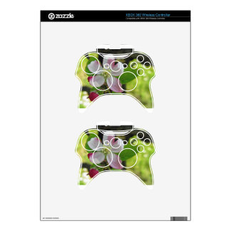 Pink apple blossoms xbox 360 controller decal