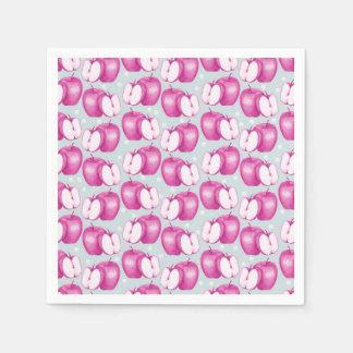 Pink Apple Paper Napkin