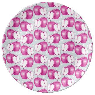 Pink Apple Plate
