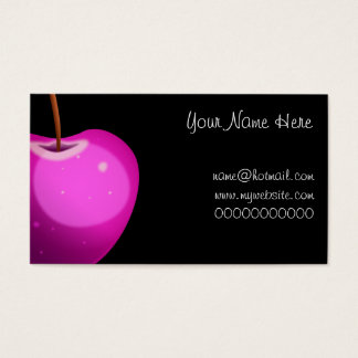 Pink Apple, Your Name Here, name@hotmail.comwww... Business Card