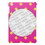 Pink Argyle Photo iPad Mini Case