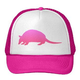 Pink Armadillo Trucker Hat