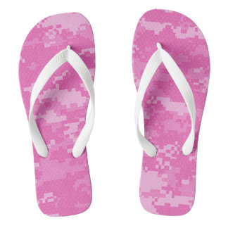 Pink ARMY ACU Camo Camouflage Flip Flop Sandals Flip Flops