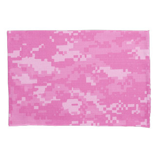 Pink ARMY ACU Camo Camouflage Pillow Case